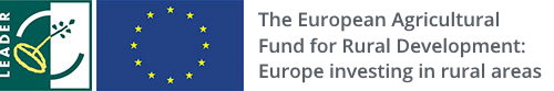 Leader 5 European Agricultural Fund logo